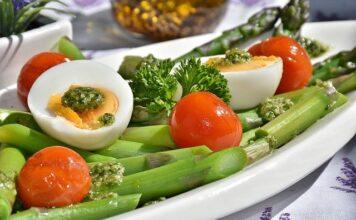 Posiłek na diecie ketogenicznej